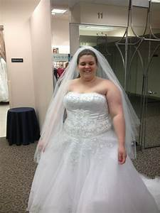 size 24 finds her dress pic heavy weddingbee With size 24 wedding dress