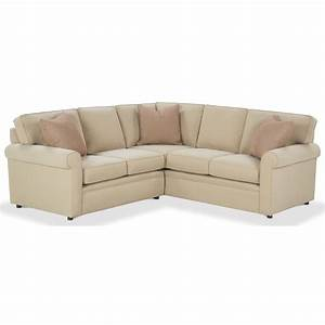 Rowe brentwood rolled arm sectional sofa johnny janosik for Sectional sofas johnny janosik