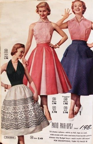 Here Are Five 1950s Fashion Trends Wed Love To See Have A
