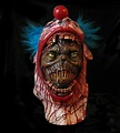 ALIEN Peeling Scary Clown Face Horror Monster Adult Latex ...