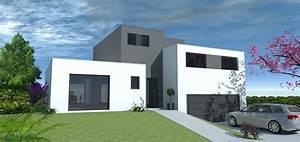 Georgia par maisons vinci for Maison demi niveau plan 14 sophia contemporaine maisons lara