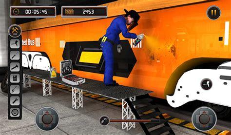 bus mechanic auto repair shop car garage simulator apps  google play