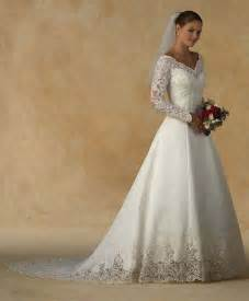 wedding dress sleeves lace sleeve lace appliques ivory satin court wedding dress 2074515 weddbook
