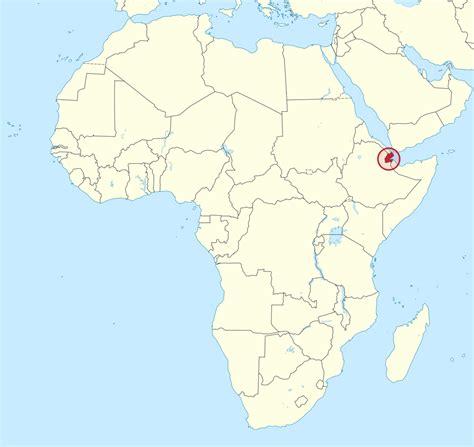 File:Djibouti in Africa (special marker) (-mini map ...