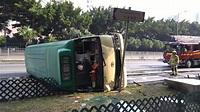 沙田大涌橋路「綠巴」翻側有7人受傷 - 香港經濟日報 - TOPick - 新聞 - 社會 - D151015