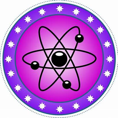 Science Nuclear Symbol Atom Cliparts Clip Clipart