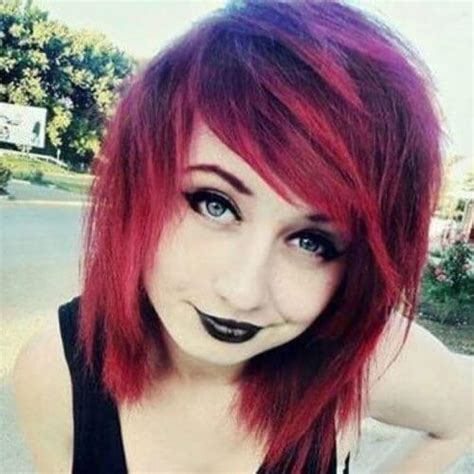 emo short hairstyles hair