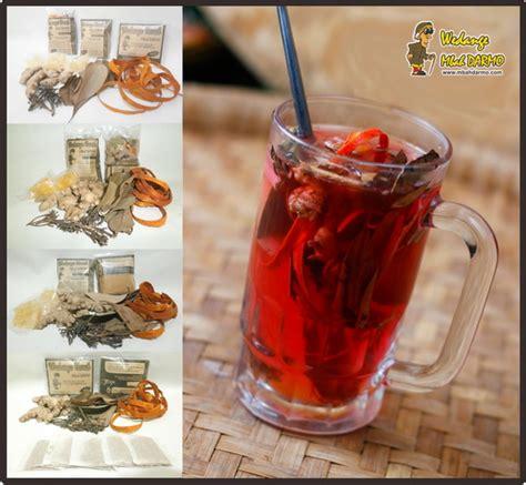 wedange mbah darmo minuman tradisional wedang uwuh