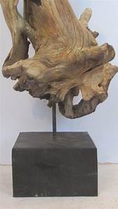 Large American Natural Driftwood Sculpture At 1stdibs