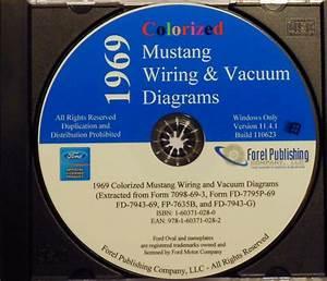 1969 Ford Mustang Gt Mach 1 Boss 302 429 Wiring Vacuum