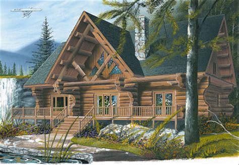 log style house plan  beds  baths  sqft plan   houseplanscom