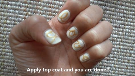 love string nail art design nail art gallery step