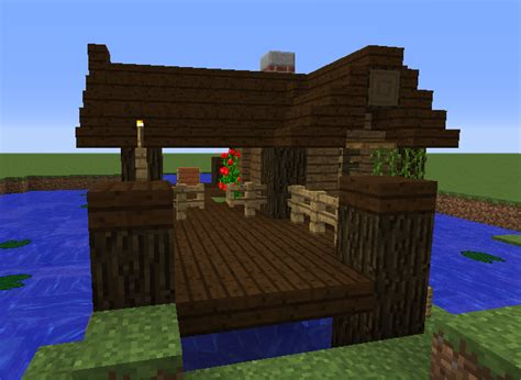 Minecraft Boat Stairs by Small Fishing Hut Grabcraft Your Number One Source For