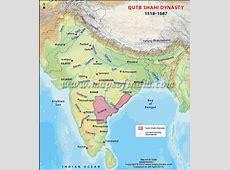 Qutb Shahi Dynasty Map