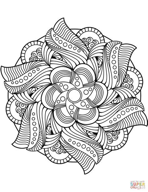 immagini dei mandala da colorare disegni mandala da colorare img