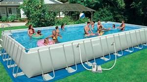 Grande Piscine Hors Sol : inspiration piscine hors sol grande taille ~ Premium-room.com Idées de Décoration