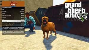 GTA 5 PC Mods - ANIMAL PET SHOP MOD!!! - GTA 5 Pet Mod w ...