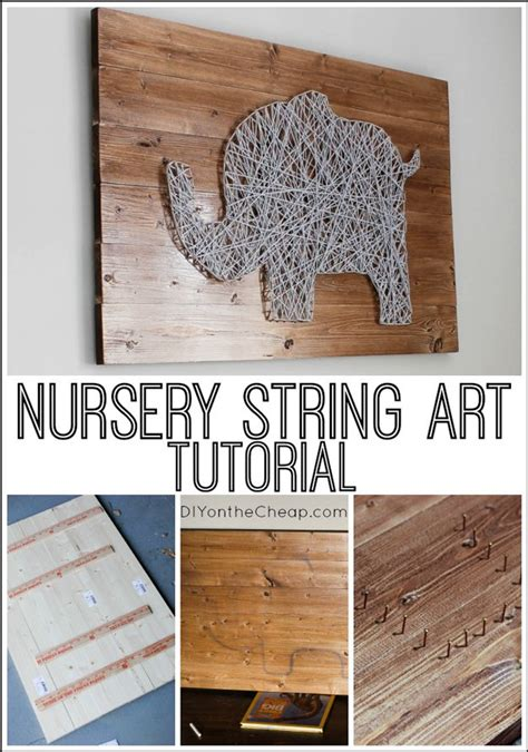 easy string for homes diy projects craft ideas how to s for home decor with