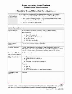 best photos of sample business recommendation report With sample process improvement plan template