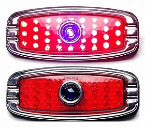Flush Mount Led Blue Dot Taillights
