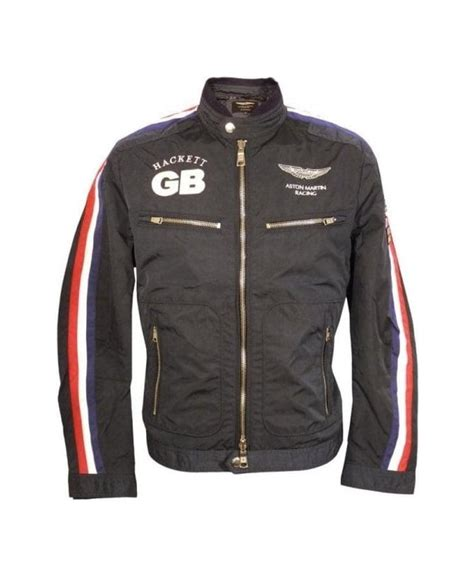 hackett navy aston martin racing jacket outerwear