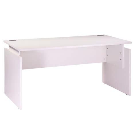 bureau 160 cm bureau ineo 160 x 80 cm blanc réglable en hauteur beaux