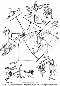 Yamaha Snowmobile 1985 Oem Parts Diagram For Electrical