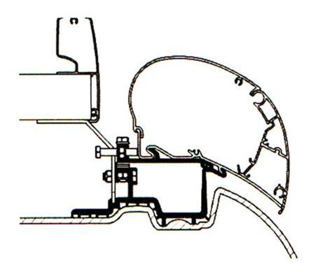 thule omnistor montageanleitung adapter f 252 r thule omnistor markisen 6002 und 6900