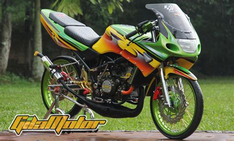 Modif Mio Sporty Ala Thailand by Modifikasi Mio Ala Thailand Modifikasi Motor Kawasaki