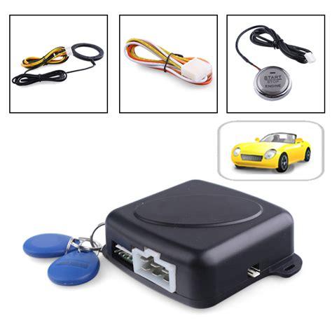 Car Alarm Immobilizer Pivot Start Button Auto Ignition System