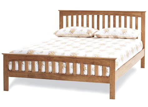 mattress bed frame amelia honey oak finish bed frame custom size beds