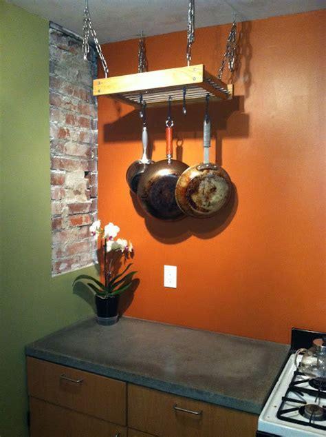A simple hanging pot rack hack   IKEA Hackers   IKEA Hackers