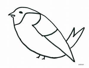Modèle De Dessin Facile : mod le de dessin pour gommettes oiseau magommette ~ Melissatoandfro.com Idées de Décoration