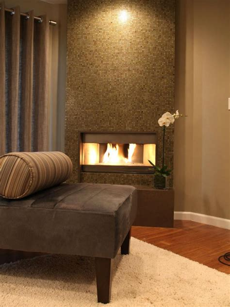 mosaic tile fireplace living room design tips from candice hgtv