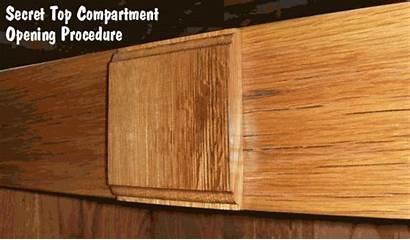 Gun Safe Storage Plans Secret Wood Compartments