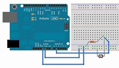 Analog Arduino Input Ldr Circuit Project Spot
