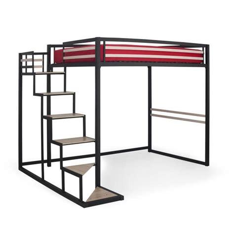 chambre pont adulte home mezzanine 140x200 achat vente lit mezzanine pas
