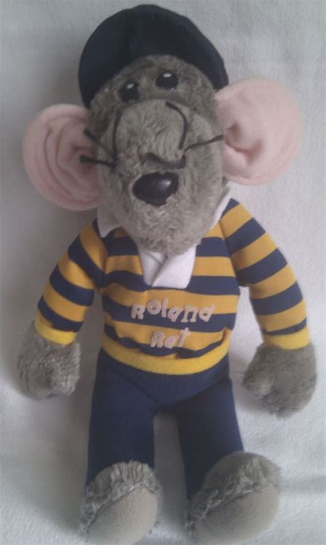 Vintage Rare 1980s Big Roland Rat Superstar Collectable