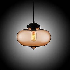 Suspension Boule En Verre : suspension boule en verre h24cm bulle moderne pour chambre restaurant ~ Melissatoandfro.com Idées de Décoration