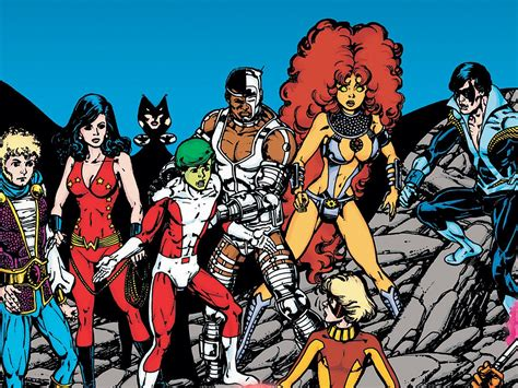 47 Teen Titans Hd Wallpapers