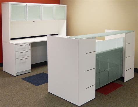 modern office cubicles modern office furniture 2 person cubicle workstation szws241 u shaped glass front reception desk w hutch