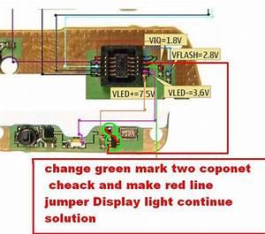 Nokia 1110 Light Problem Jumper Solution