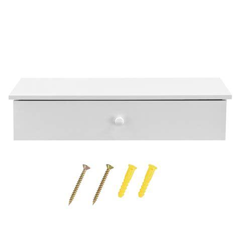 lade a parete en casa appesa comodino bianco console muro cassettiera da