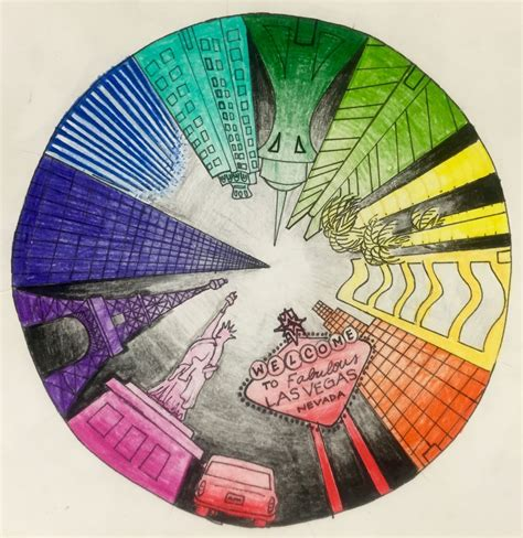 market colors market color wheel perspective