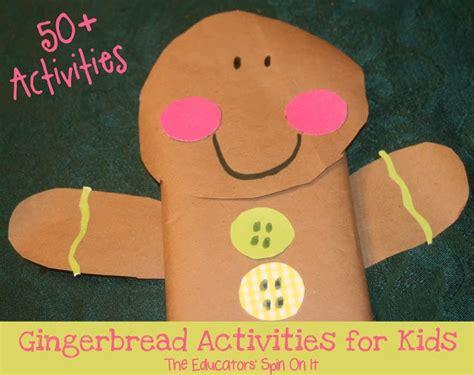 bonhomme preschool 50 gingerbread activities for the educators spin 801