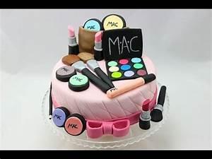 Make Up Cake I Make Up Torte I Make Up Kuchen I how to make a make up cake YouTube