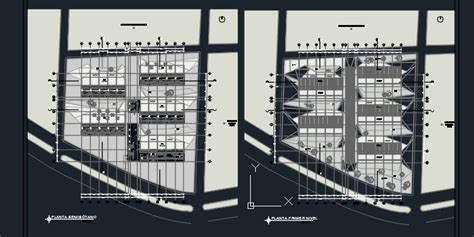 cuisine autocad two food shopping center 2d dwg design elevation for