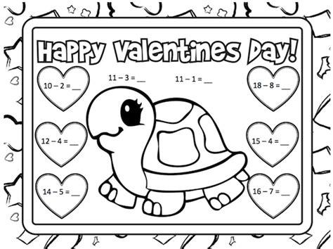 math activities grade valentines day