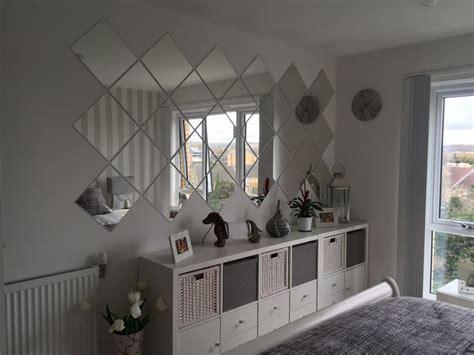 grey bedroom ikea kallax ikea lots mirrors deco appart
