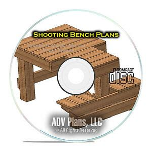 custom shooting bench plans learn   build